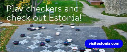 Play draughts and check out Estonia!